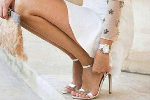 1. Wear heels.