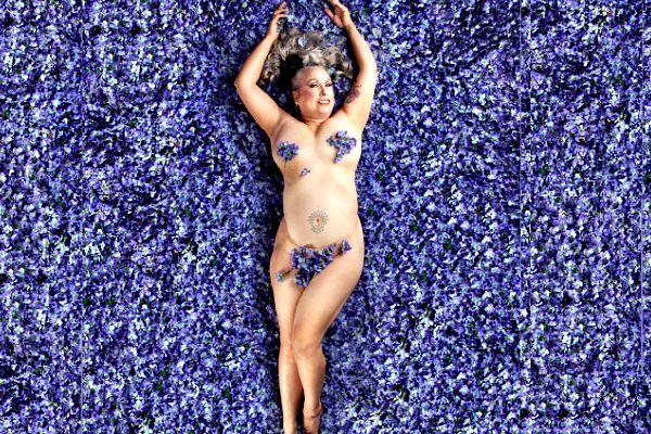 Lilac lady 1