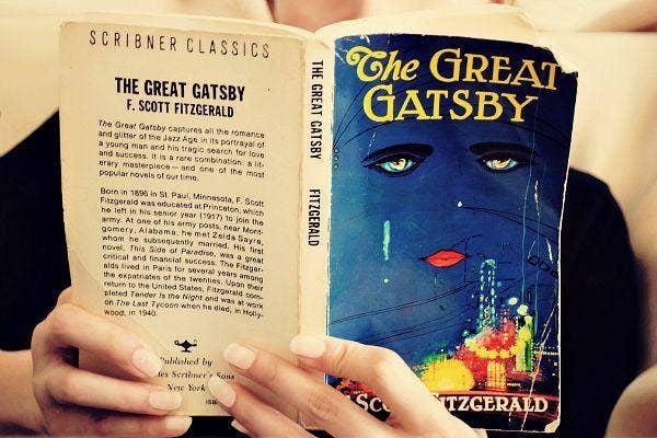 1. The Great Gatsby by F. Scott Fitzgerald