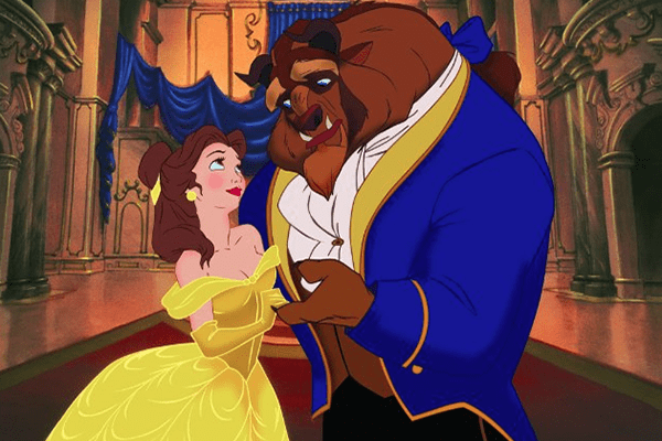 Disney princess love lessons: You can change a beast into a prince Belle dancing with the Beast in Beauty and the Beast