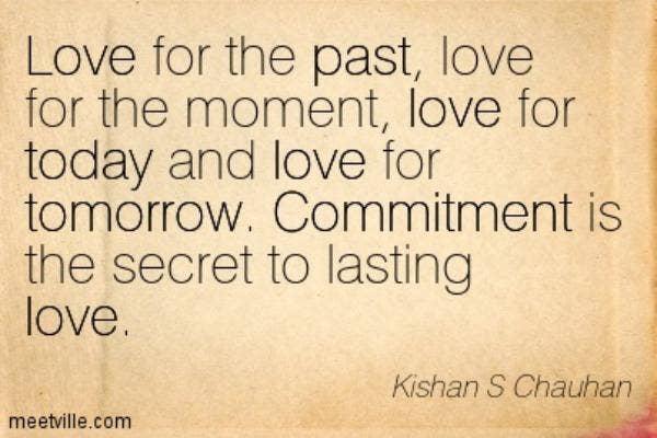 Kishan S. Chauhan love quotes