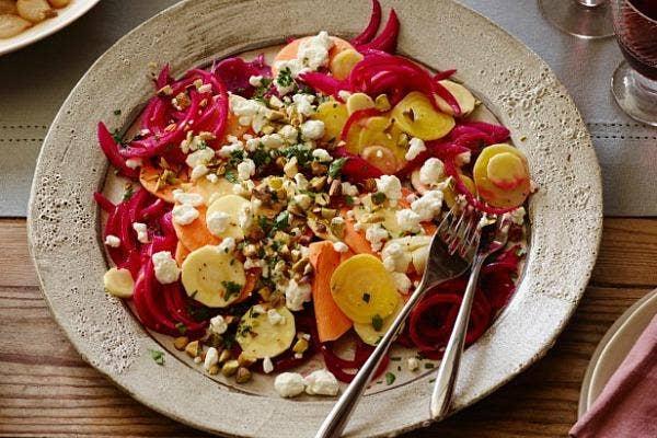 Pickled Root Veggie Salad recipe