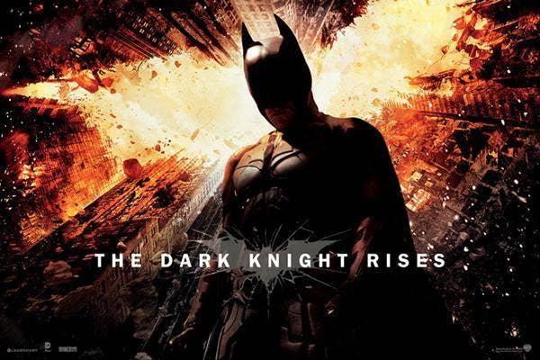 12. The Dark Knight Rises