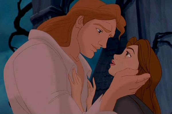 Disney princess love lessons: It's okay to fall in love with your captor Belle and Prince Adam at the end of Beauty and the Beast