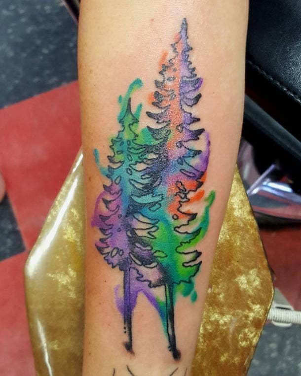 10. Pine Trees