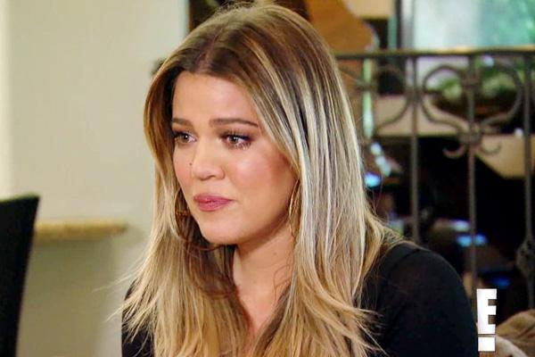 Khloe Kardashian crying keeping up with the kardashians losing virginity first time sex