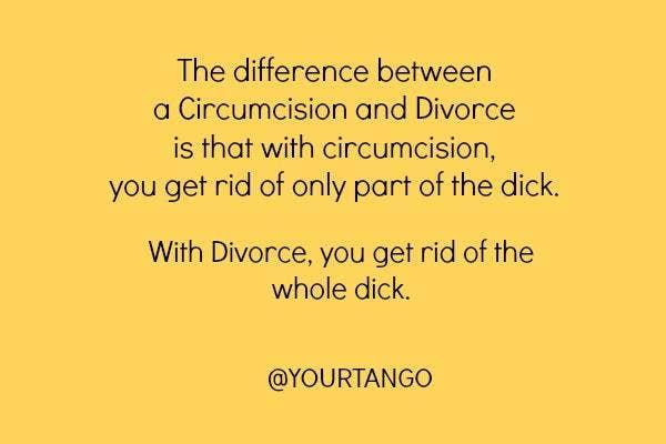 13. Circumcision versus divorce ...