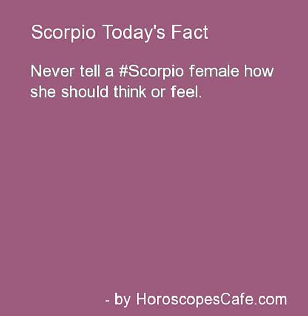 How to know if a scorpio woman loves you