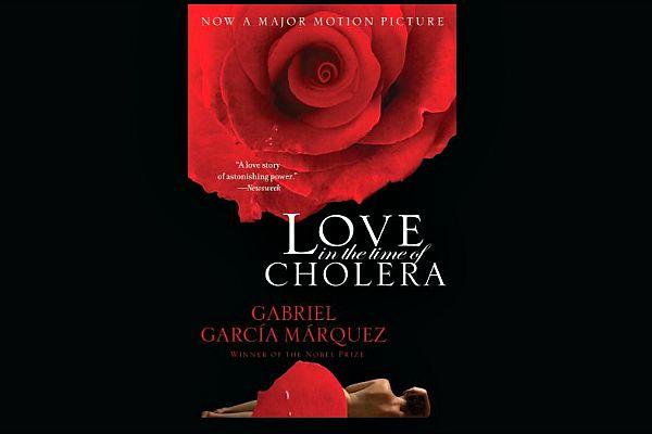 14. Love In The Time Of Cholera by Gabriel Garcia Marquez
