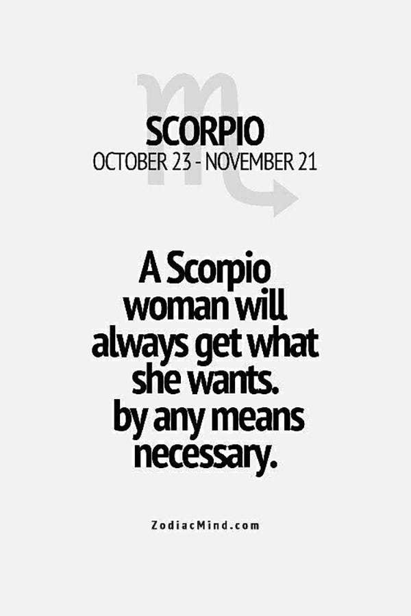 KARLA: What a scorpio woman wants in a man