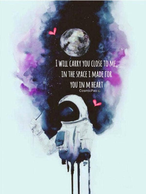 cosmic love quote