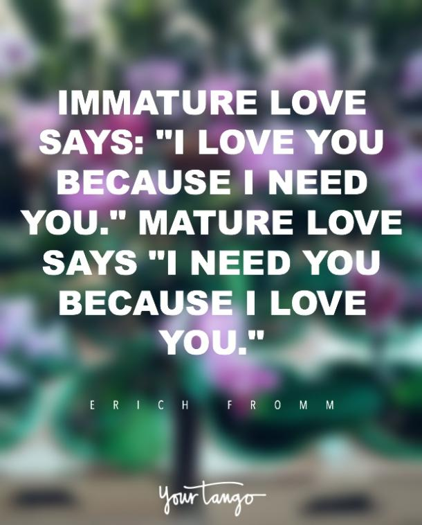 Erich Fromm i love you quote
