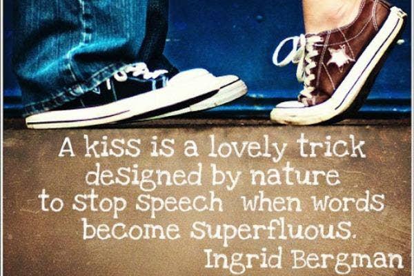 Ingrid Bergman love quote