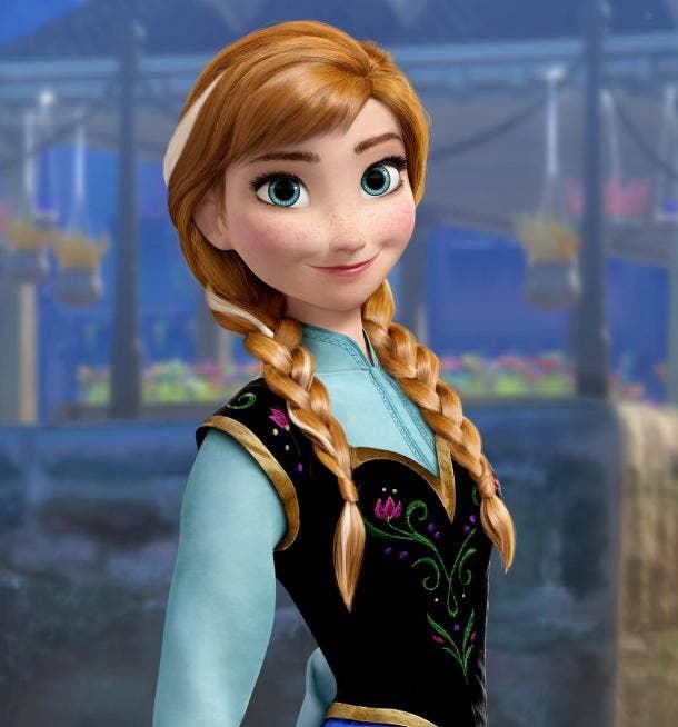 Anna from Disney's Frozen