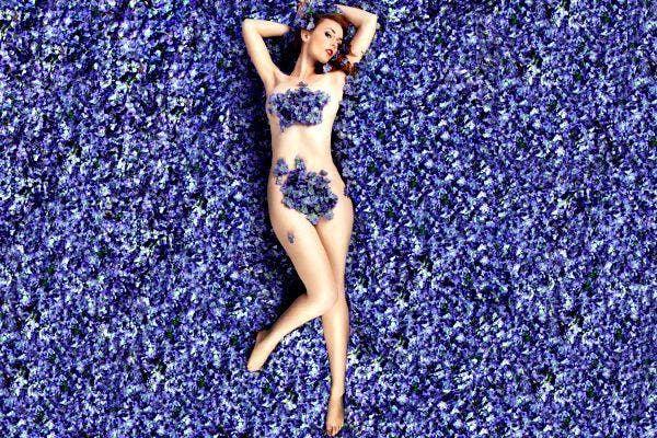Lilac lady 2.