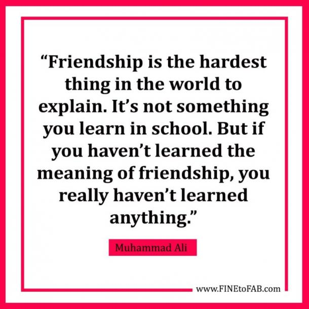 25 Inspirational Friendship Quotes To Celebrate The People