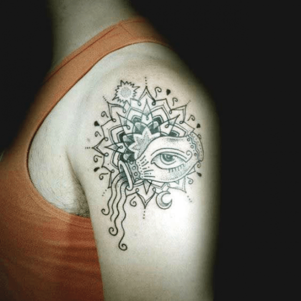 25 Best Aquarius Tattoo Ideas And Zodiac Sign Tattoos With Meanings
