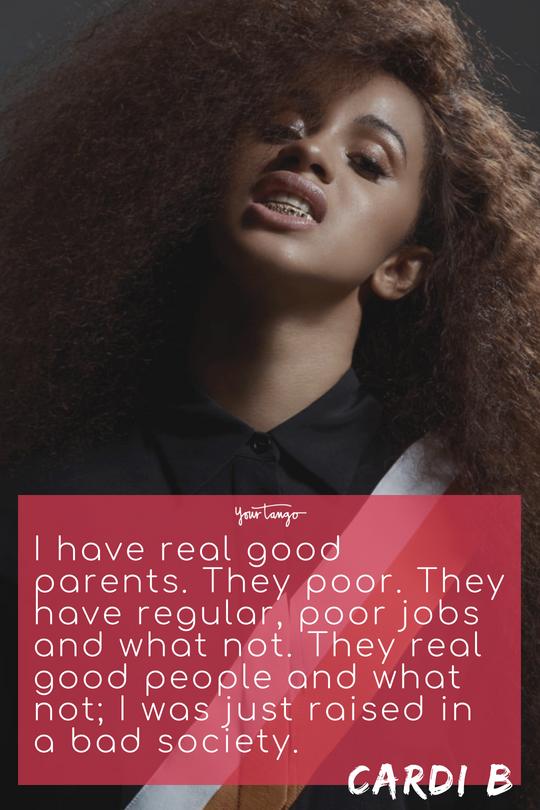 25 Best Cardi B Quotes And Song Lyrics About How To Be Confident And