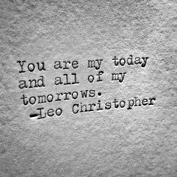 leo christopher valentines day caption