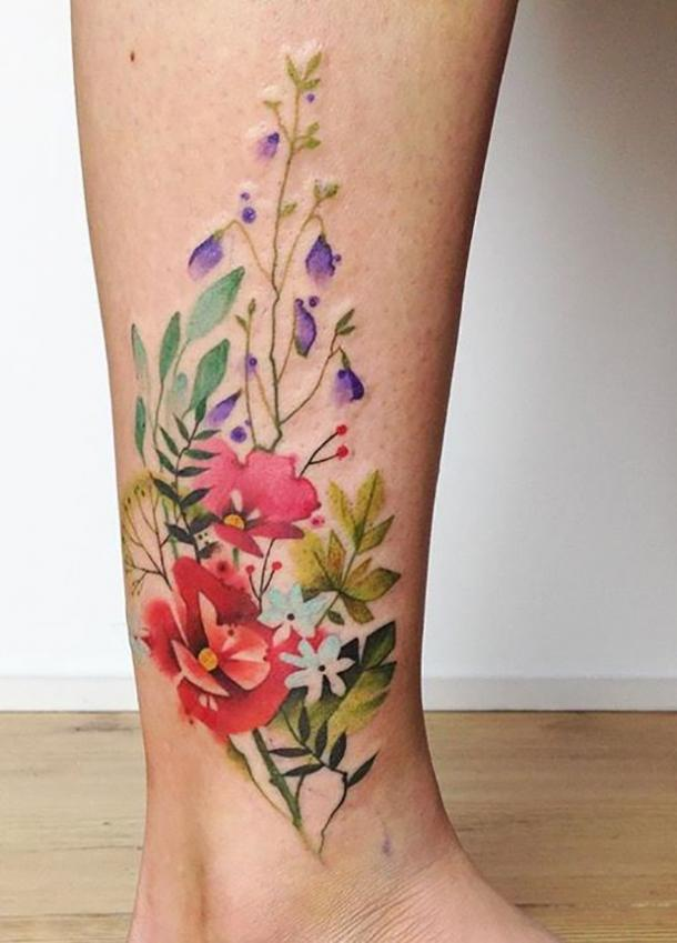 2b6d8835b 35 Best Flower Tattoos For Women That Will Inspire You To Get Inked ...