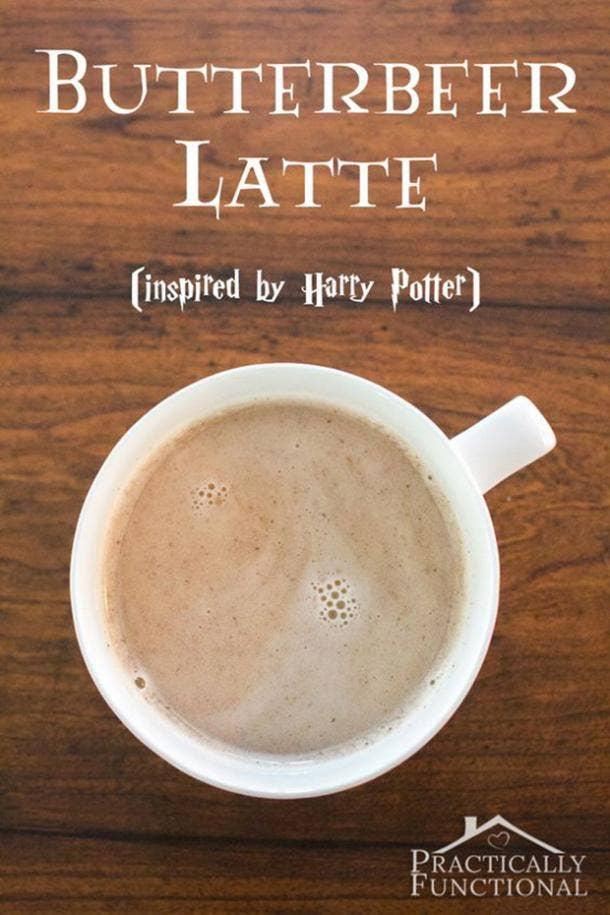 Starbucks Secret Menu drinks DIY butterbeer latte recipes