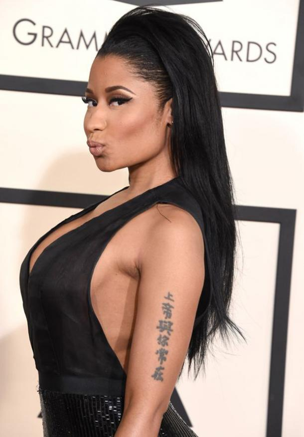 651f0e48a It's interesting how many celebrities have tattoos inspired by their  personal faith and spirituality.