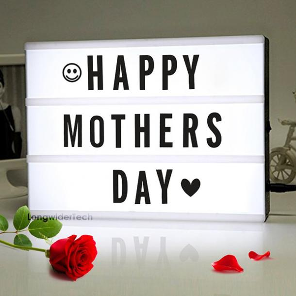 Lightbox Sign mothers day gift for girlfriend