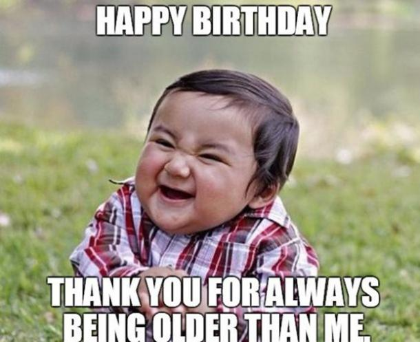 Funny Thank You So Much Meme : Funny birthday quotes to send to your best friend on her big