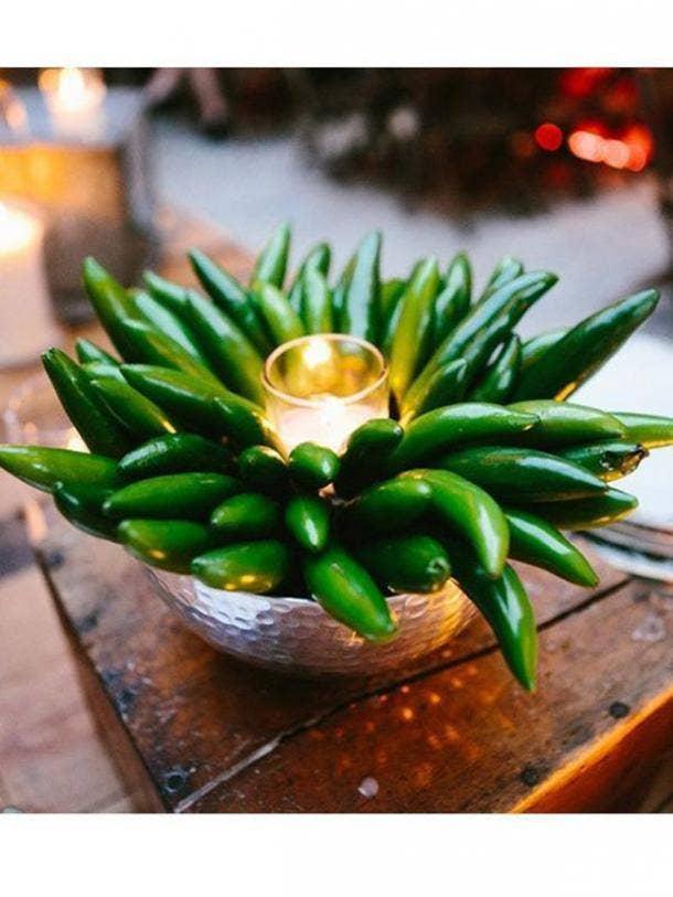chili pepper centerpiece diy cinco de mayo decorations