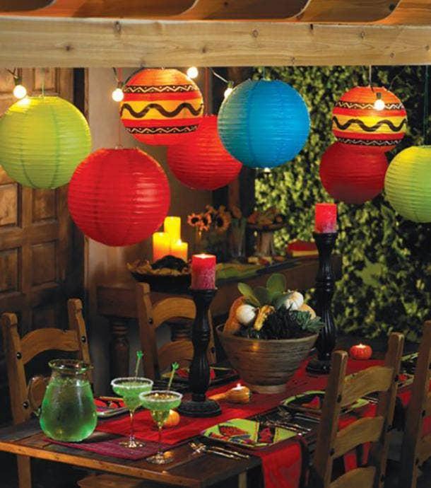 paper lanterns diy cinco de mayo decorations