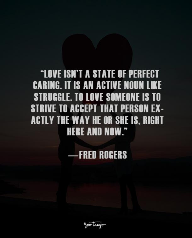 Fred Rogers true love quote
