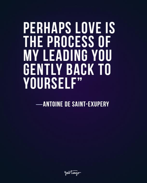 Antoine de Saint-Exupery true love quote