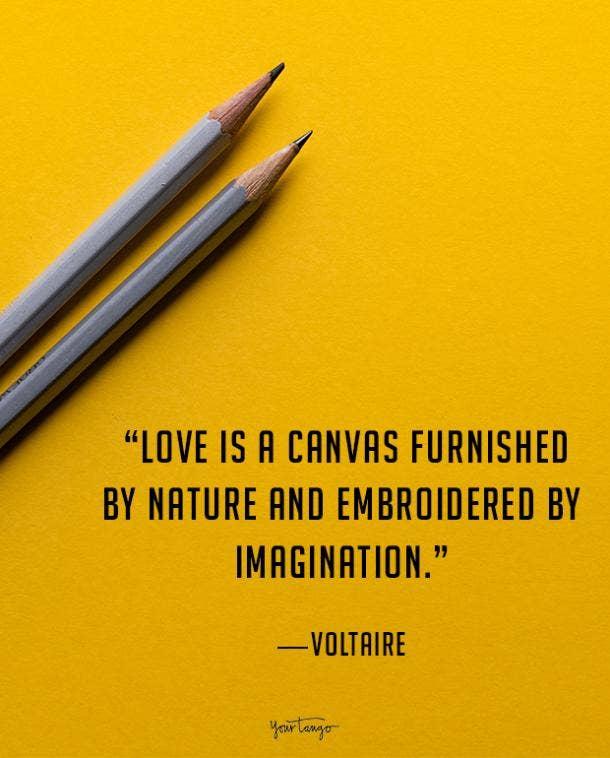 Voltaire true love quote
