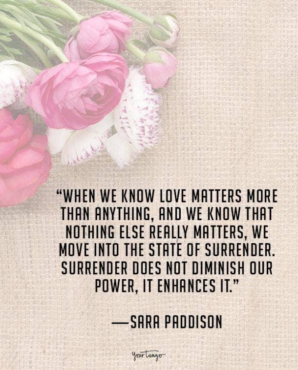 Sara Paddison true love quote