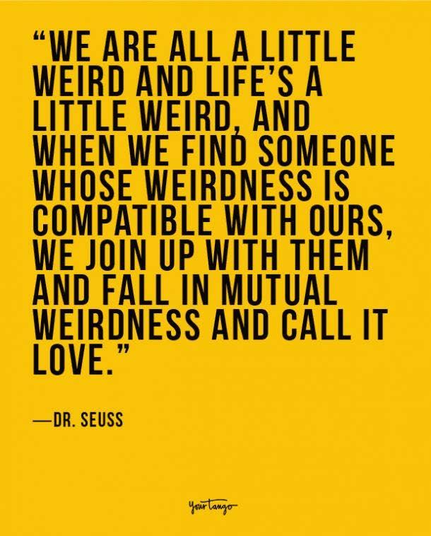 Dr. Seuss true love quote