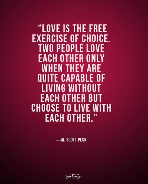 M. Scott Peck true love quote