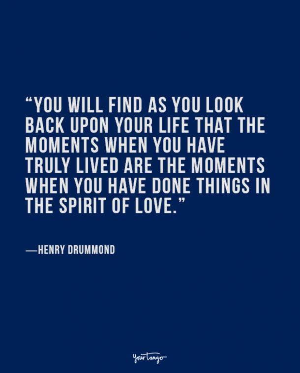 Henry Drummond true love quote