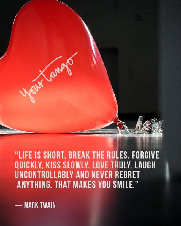 Mark Twain true love quote