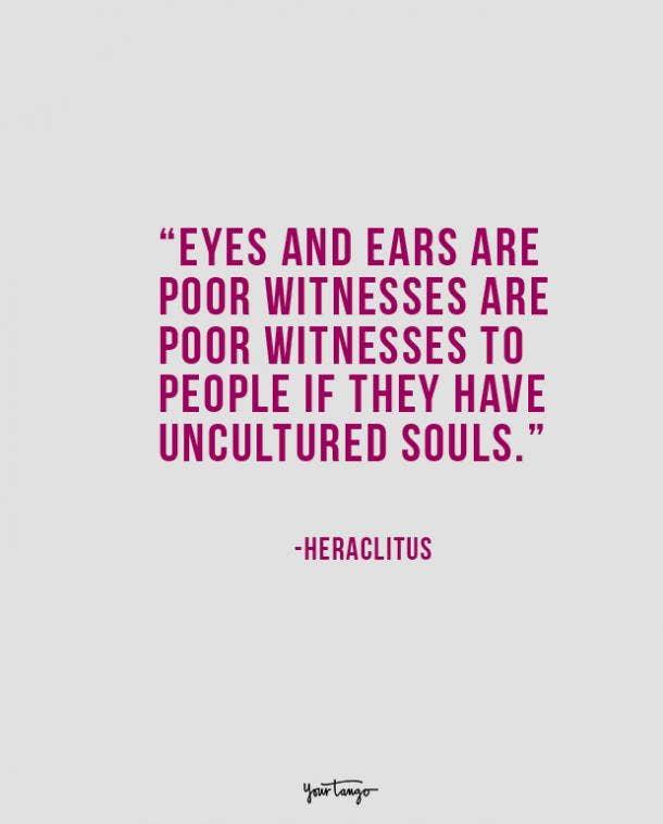 heraclites philosophical quote