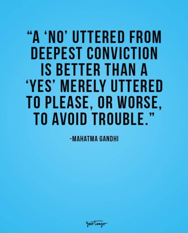 mahatma gandhi philosophical quote