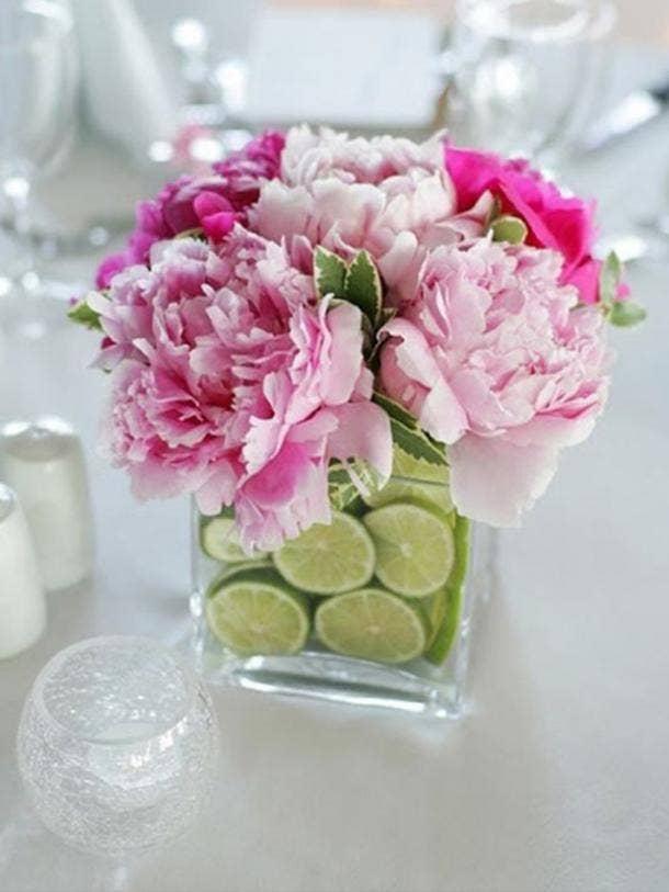 lime flower vase diy cinco de mayo decorations