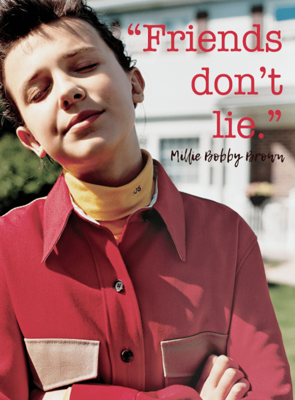 Millie Bobby Brown quotes Millie Bobby Brown birthday February 19