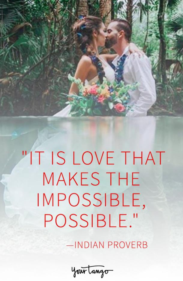 25 Love Proverbs That Perfectly Explain The Incredible Power | YourTango