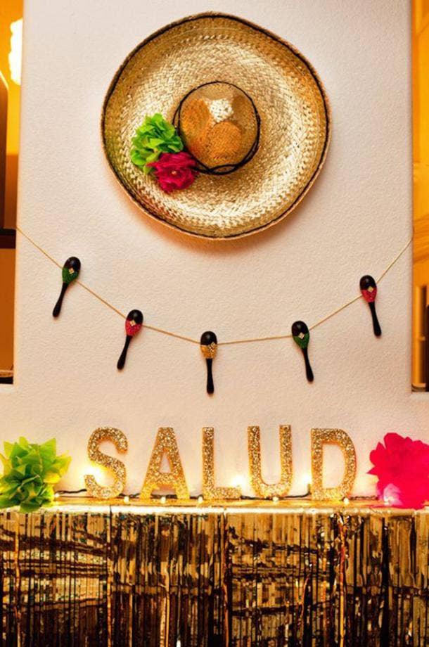 salud diy cinco de mayo decorations