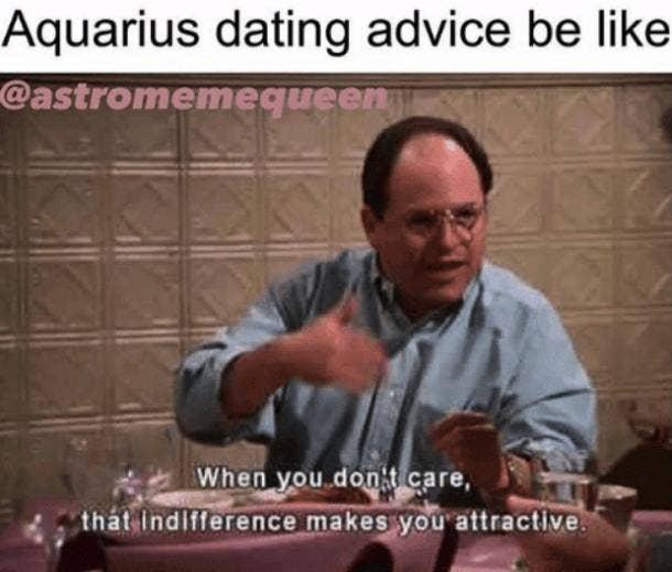 aquarius dating advice