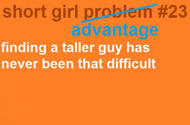 Advantages of dating a short girl