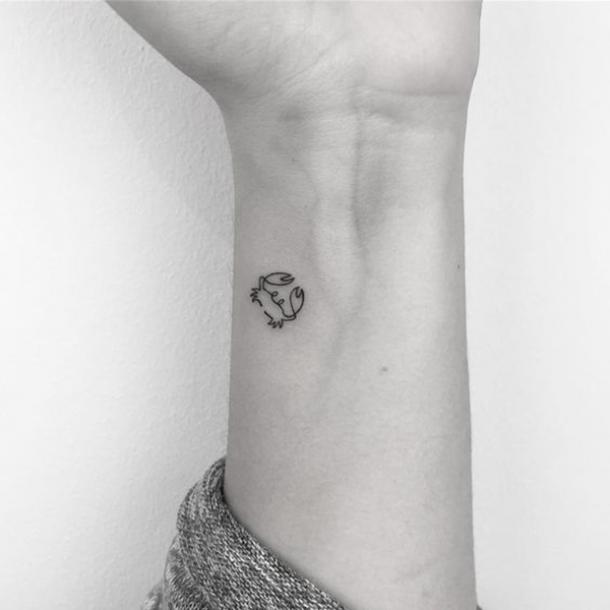 30 Best Constellation Tattoos & Crab Tattoos For Cancer Zodiac Signs ...