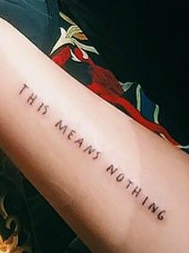 Pictures Of Dua Lipas Tattoos Plus The Meanings And