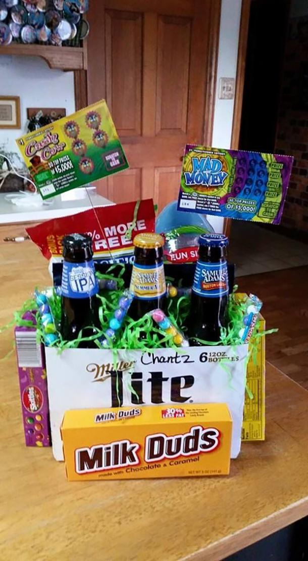 Best adult easter basket treats from gin tonic easter eggs to no matter which beverage you choose drink responsibly there are tons of ideas for liquor easter baskets on pinterest so go crazy oh and have fun negle Images