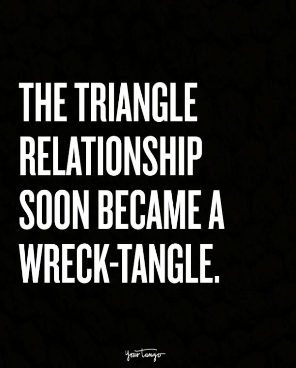 Some Relationships Are Just Destined To Circle The Drain.